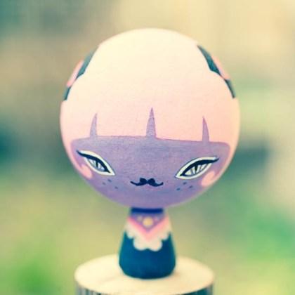 オリジナルこけし[コケッチュ]2012年制作
