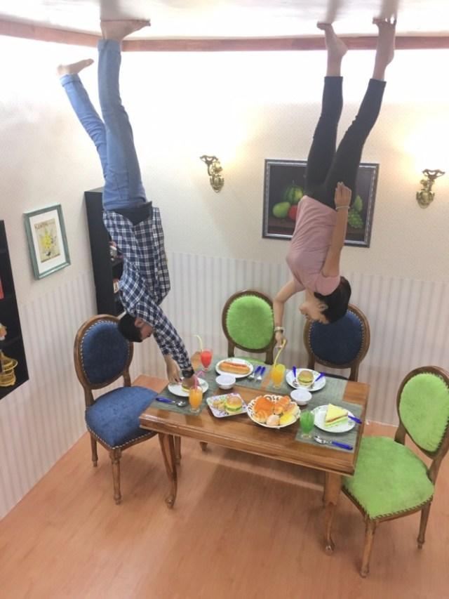 upside down bandung