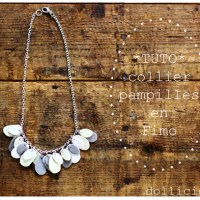 Tutorial : Collier Pampilles Paillettes
