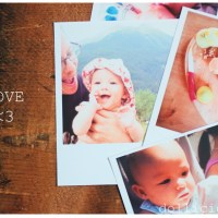 "DIY : mes photos style ""Polaroid""  #1"