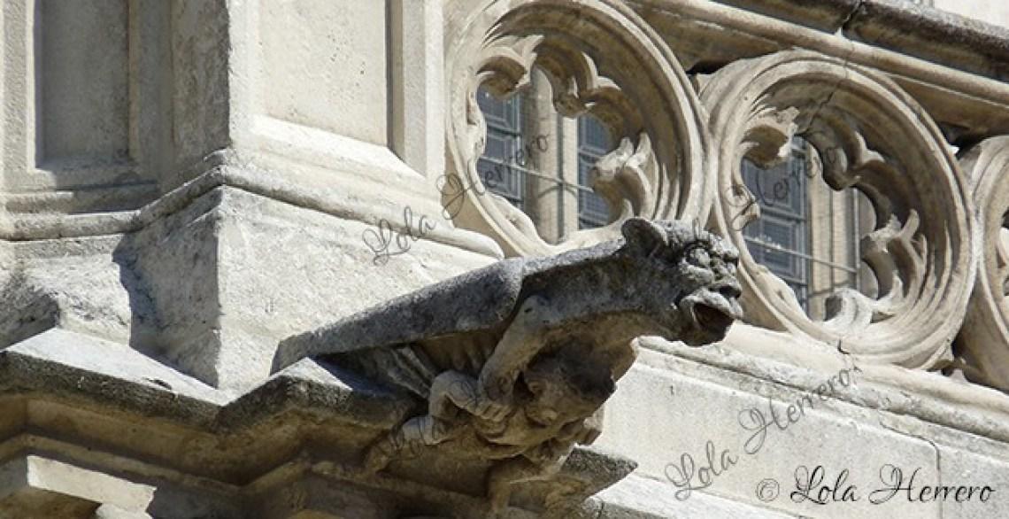 Gárgola Catedral Burgos (347)