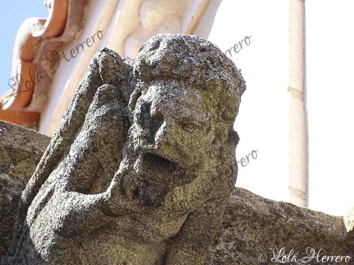 Gárgola Parroquia San Pedro Gata (425)