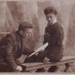 Ефим и Евгения Гордоны. Рига, 1909. Из личного архива М.Б. Друговой