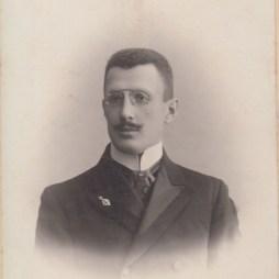 Владимир Вильмер. 1910-е. Москва. Из личного архива Александра Стефановича