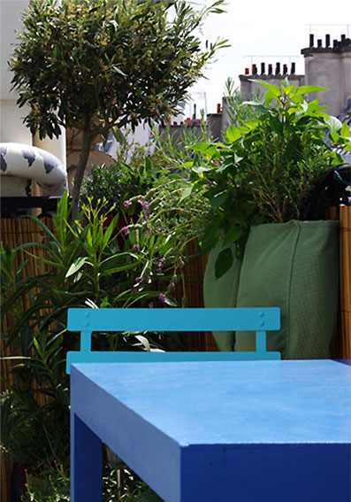 comment am nager une terrasse agr able. Black Bedroom Furniture Sets. Home Design Ideas