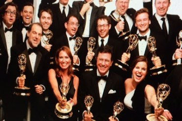 The-Colbert-Report-Emmy-Winners