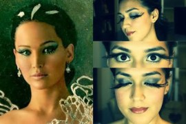 Domesticated-Me-Jessica-Flores-Katniss-Everdeen-Catching-Fir-CoverGirl-Makeup-Tutorial