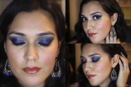 Blue & Gold Makeup Tutorial Using Urban Decay's Vice Palettes
