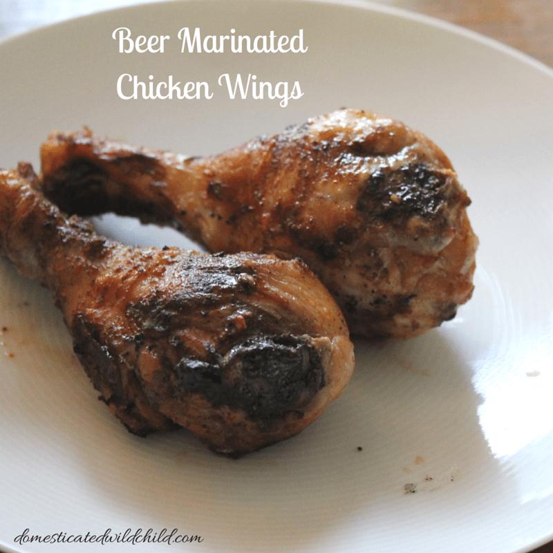 Beer Marinated Chicken Wings-2
