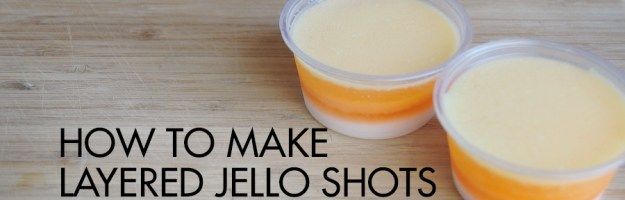 Easy, Layered Jello Shots