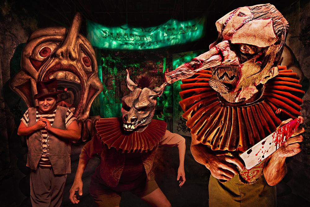 Knott's Scary Farm Pinnochio Unstrung