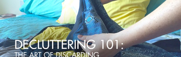 Decluttering 101: The Art of Discarding