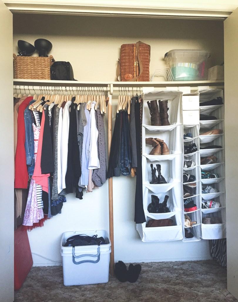 My KonMari-ed Closet