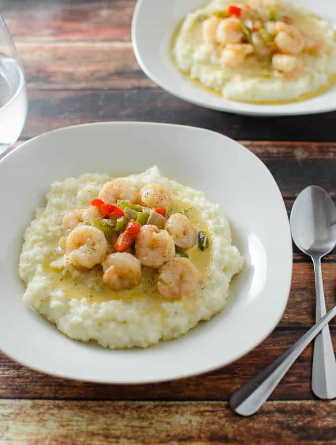 ... your weeknight menu with this quick and easy shrimp and grits recipe