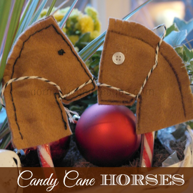 Candy Cane Horse