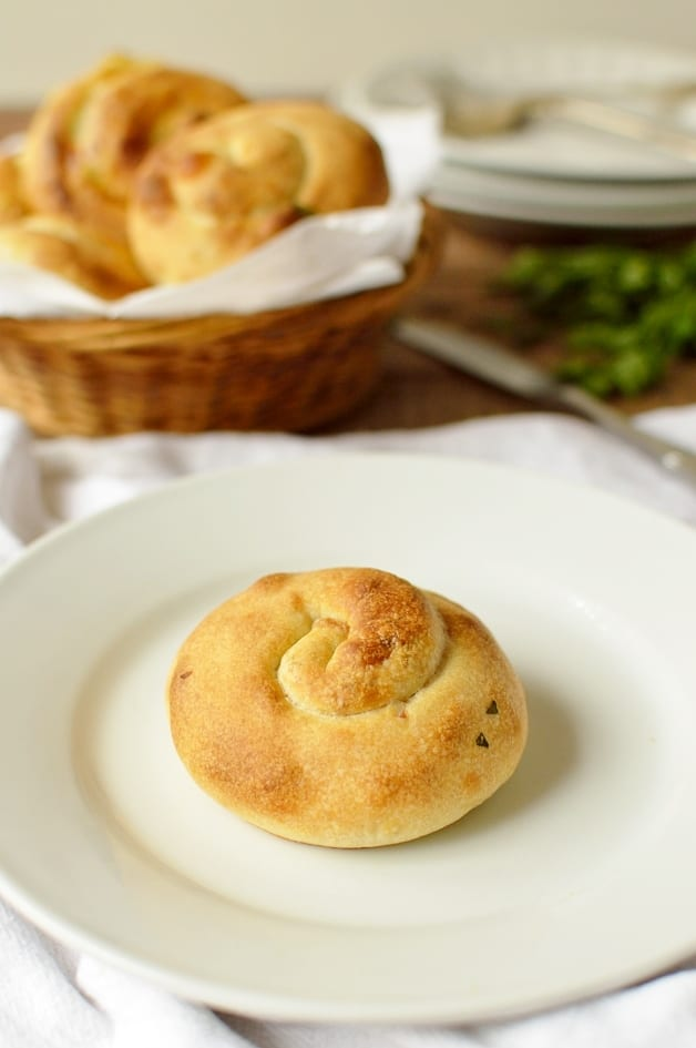 Palestinian cheese buns - Domestic Gothess