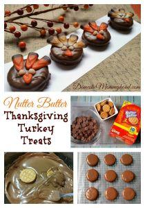 New Nutter Butter Sandwich Cookie Thanksgiving Turkey Treats