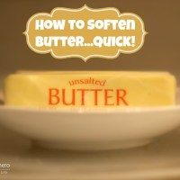 How to Soften Butter...Quick!