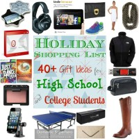 Holiday Shopping List: 40+ Gift Ideas for High School and College Students (part 2)