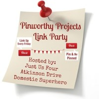 Pinworthy Projects Link Party #62