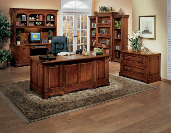 Country-Cherry-Modular-Executive-Home-Office-Collections