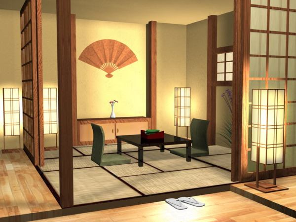 Japanese_House_Interior_by_Brillindeiel