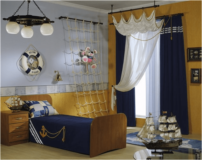 Nautical theme for young boys rooms1