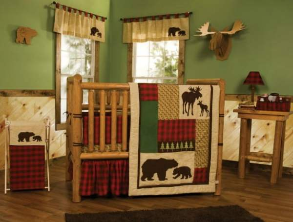 northwoods-rustic-cabin-nursery-idea
