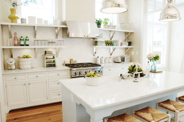 kitchen.white.open shelving.tile backsplash.country.urban grace interiors