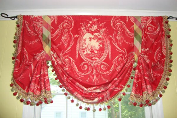 Pink-Curtains-Color-for-French-Country-Roman-Shades-131