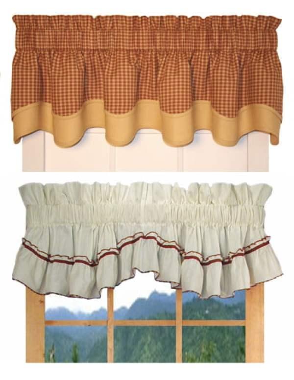 Занавески в деревенском стиле своими руками 74