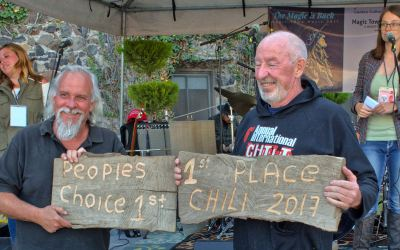 The Chili Cookoff. Good times never felt so good.