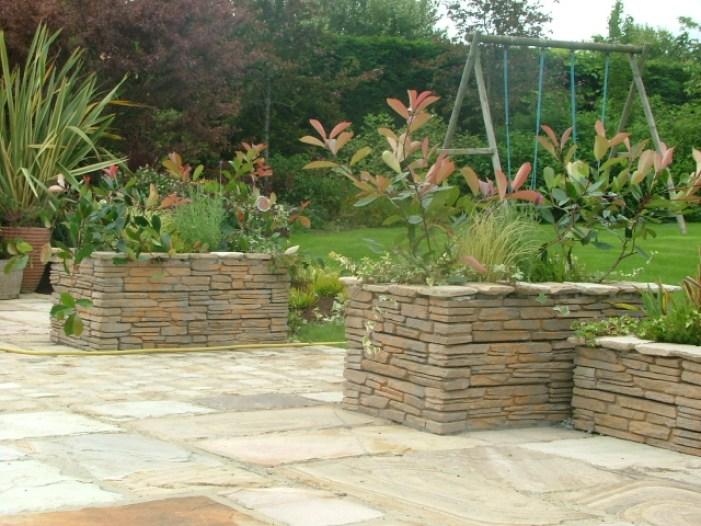 small-garden-raised planters
