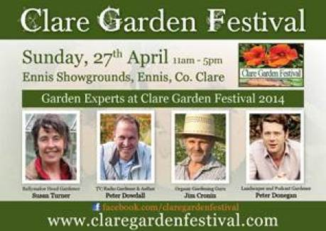 clare garden festival, garden speakers, peter donegan