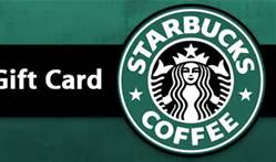 th 1 Giveaway: $10 in Starbucks scrip.