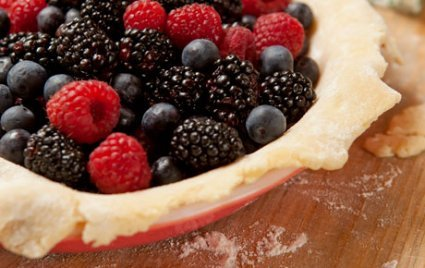 whole foods berry pie