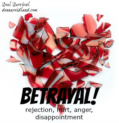 Betrayal! Betrayal: rejection, hurt, anger, disappointment. How do you respond? How can meditating on God's Word help?