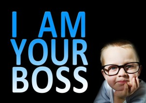 who is your boss?