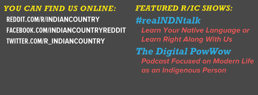 r/IndianCountry Facebook Banner