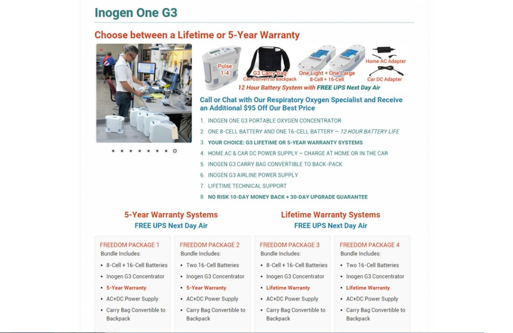 OxiMD Top Seller Page