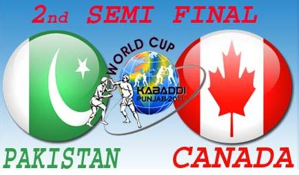 Pakistan Kabbadi Team Well Played and Qualified for the Final