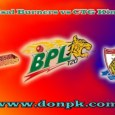 BPL Live Cricket Match 31 January at Zahur Ahmed Chowdhury Stadium