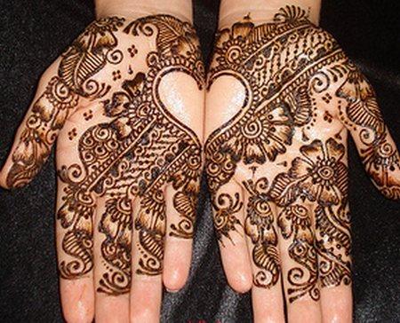 Mehndi Designs for hands on wedding