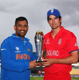 India vs England live at Birmingham in England