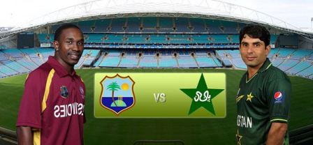 Pakistan Vs West Indies 1st ODI Live Cricket Match on Dated 14-07-2013