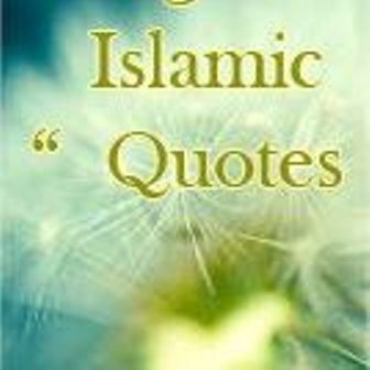 Islamic quotes messages In English