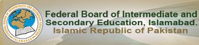 Federal board Admission Form,