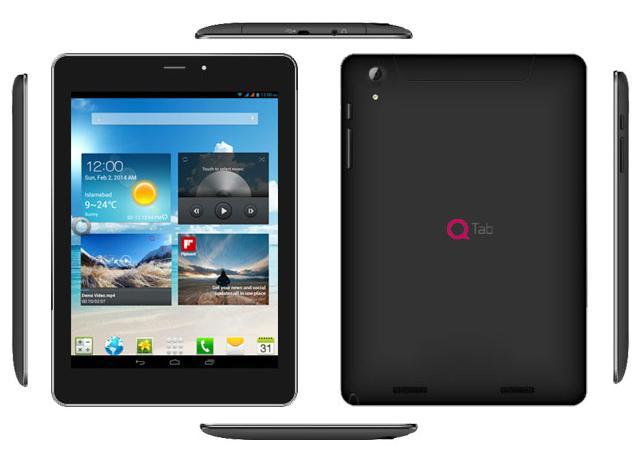 Dual SIM 3G QMobile Tablet Q800 Tab Specs and Price