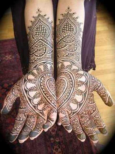 Arabic beautiful mehandi designs