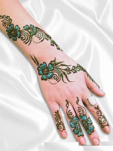 Indian & Arabic Eid Special Mehndi Designs 2016